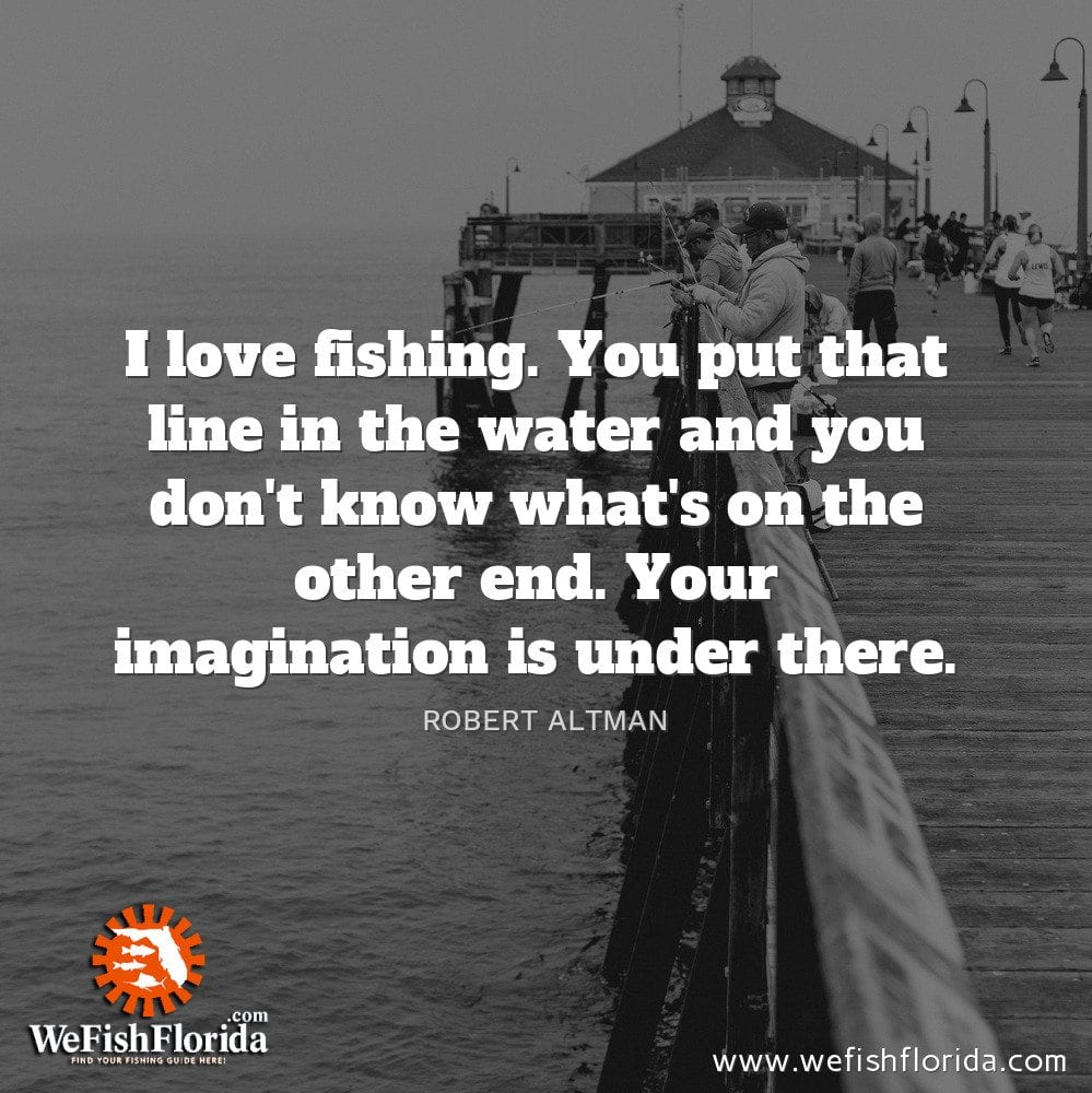 I love fishing…