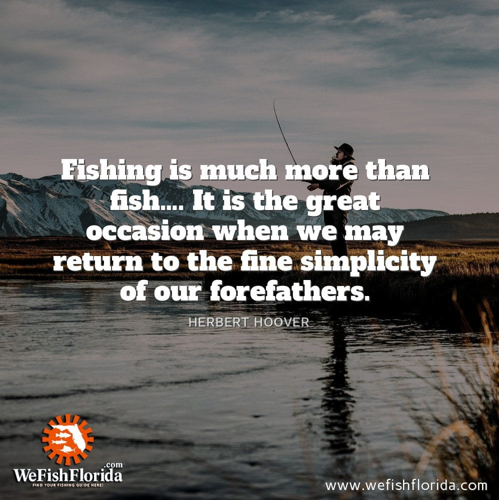 Fishing is much more…